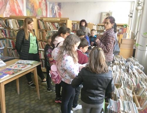 Интригуващо посещение на библиотеката